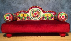 Chaise Royale - Regal Version (ann-marieanderson-mayes) Tags: beautifulstitches canvaswork embroidery needlepoint miniature