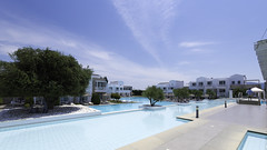 DDH (donnicky) Tags: greece kos tamron architecture blue building clouds daylight hotel leisure luxury nopeople outdoor publicsec sky summer swimmingpool travel tree vacation water wideangle