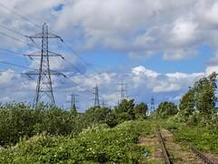 Pylon Porn! (Jason_Hood) Tags: disused abandoned railway railroad southstaffordshireline southstaffordshirerailway pylon pylons hightensiontower electricitypylon transmissiontower