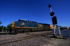 Odd UP Local Power (Jeff Carlson_82) Tags: up uprr unionpacific ge emd ac4400cw ac44cw gp15 gp151 upy 631 281 signal lmc52 local kansas kansassub mp67 littlerussia porubsky boxcar logo newimage foreign train railroad railfan railway lmc53