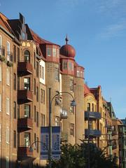 Grand row of residential buildings, Gothenburg, Sweden (Paul McClure DC) Tags: gothenburg göteborg sweden sverige july2015 historic architecture