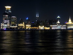 Shanghai The Bund waterfront at night, China (Germán Vogel) Tags: asia eastasia china travel traveldestinations traveltourism tourism touristattraction landmark holidaydestination famousplace shanghai city cityscape urbanlandscape urbanskyline skyline financialdistrict pudong building architecture economy economicgrowth financialgrowth prosperity modern modernity night river riverside waterfront huangpo thebund