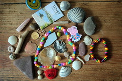 Photo of Beach finds and holiday souvenirs