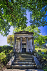 William Lord Conyngham, 2017.06.22 (Aaron Glenn Campbell) Tags: hollenbackcemetery wilkesbarre luzernecounty wyomingvalley nepa pennsylvania 3xp ±2ev hdr crypt tomb mausoleum textures sony a6000 ilce6000 mirrorless rokinon 12mmf2 wideangle primelens manualfocus emount tiffen cpfilter circularpolarizer