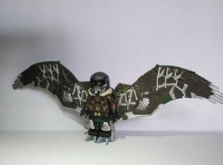 Lego Spiderman homecoming Vulture custom