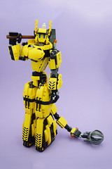 Katarina (E-Why) Tags: lego moc robot fembot gynoid mech