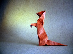 Suricate (Meerkat) - Barth Dunkan (Rui.Roda) Tags: origami papiroflexia papierfalten suricate meerkat barth dunkan