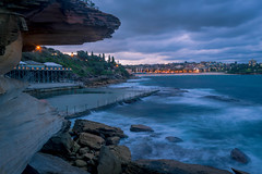 Coogee overview (Regis Lampert) Tags: coogee australia sunset overview beach rockpool