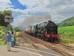 A Scot In Surrey (Deepgreen2009) Tags: royalscot steam uksteam brockham surrey train railway unique belmond pullman climb occasion hills summer