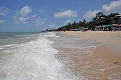 Koh Samui 344 Lamai Beach (SwissMike62) Tags: thailand asia travel kohsamui beach sandybeach wave waves ocean beachholiday