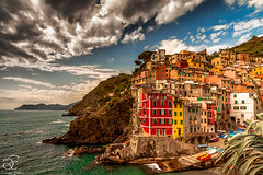 Dance with Clouds (BeNowMeHere) Tags: ifttt 500px sky landscape city sea water beach travel clouds house vacation tourism architecture building colors sight town panorama landscapes panoramic trip seashore colorful outdoors horizontal colourful scenic nature italy village colours sun riomaggiore cinque terre unesco benowmehere unescoworldheritage dancewithclouds