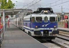 354.008b 17.4.2009 (Mariano Alvaro) Tags: talgo tren renfe krauss maffei trenes getafe diesel industrial anden madrid cartagena