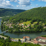 Le doubs - Vu de la citadelle de Besançon thumbnail