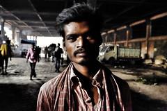 Under the tunnel, Kolkata (paola ambrosecchia) Tags: ritratto portrait asia india kolkata amazing beautiful light face eyes tunnel €street colors dark