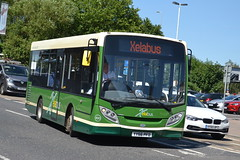 Xelabus AD Enviro 200 430 YY66PFO - Eastleigh (dwb transport photos) Tags: xelabus alexander dennis enviro bus 430 yy66pfo eastleigh