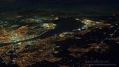Liverpool, The Wirral and the Mersey (Jon Bowles) Tags: aerial landscape citylights liverpool mersey aerialphotography aeriallandscape sony a7s color wirral river birkenhead england unitedkingdom gb