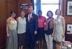 Meeting with Mayor Kenney. 7.10.17