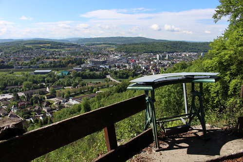 Blick vom Alpenzeiger über Brugg