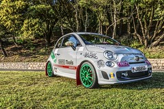 Abarth Stance (JPrestonPhotography) Tags: landscape d5000 nikon rally car abarth fiat stance