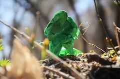 Elven guard (Nikita Vasiliev) Tags: origami origamiart paper paperart elf elves bow nature leaves lordoftherings lotr jasonku outdoor