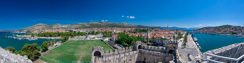 Trogir Castle Panorma