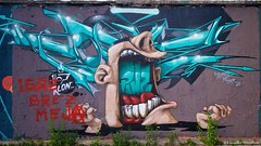 IMGP2263 (Claudio e Lucia Images around the world) Tags: graffiti metelkova mesto lubiana ljubljana slovenia tag murales colors rave socialclub artist art streetart wall sigma street walls