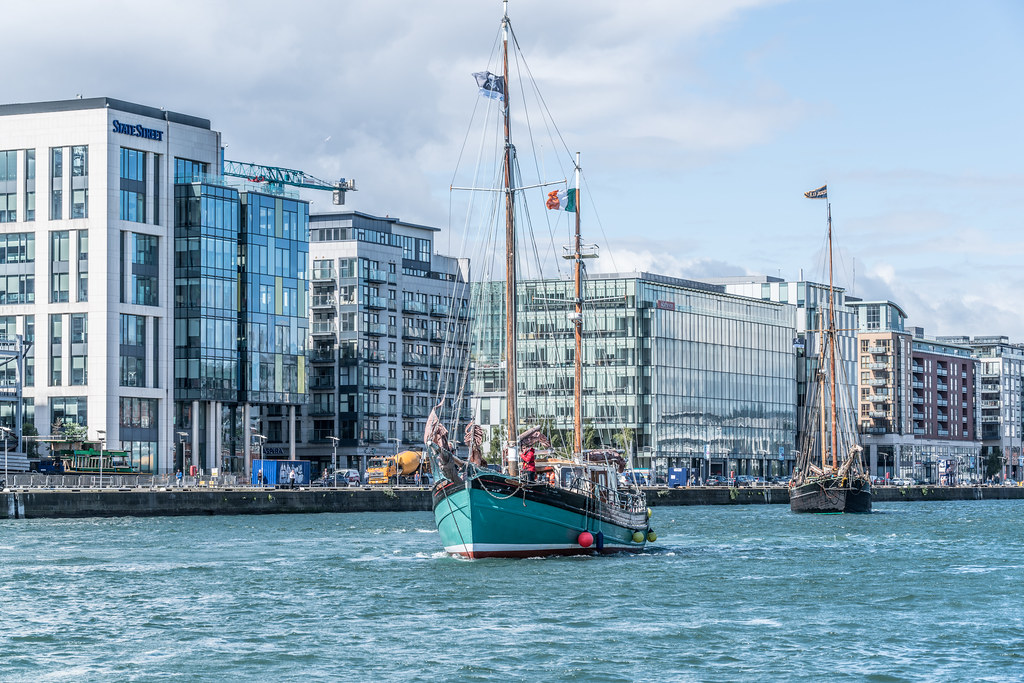 THE BRIAN BORU [SETS SAIL FROM DUBLIN AFTER THE DUBLIN PORT RIVERFEST 2017]-129412