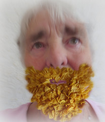 The bearded lady? (amy's antics) Tags: wah wearehere beard cornflakes sillyselfie