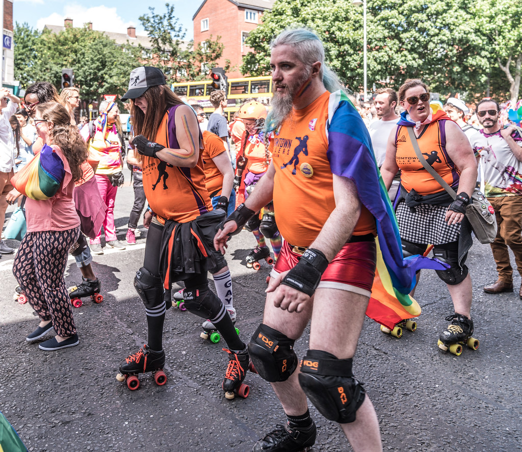LGBTQ+ PRIDE PARADE 2017 [ON THE WAY FROM STEPHENS GREEN TO SMITHFIELD]-130155