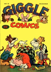 Giggle Comics 15 (Michael Vance1) Tags: art adventure artist anthology comics comicbooks cartoonist funnyanimals fantasy funny goldenage