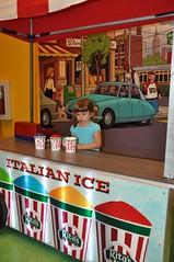 31 Sadie in Rita's Booth (megatti) Tags: pa pennsylvania philadelphia pleasetouchmuseum ritaswaterice sadie toddler waterice