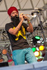 Red Baraat (bayoudragonfly) Tags: festivalinternationaldelouisiane lafayette performers musicians musician