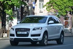 28 ZTC (License plates spotter from Ukraine) Tags: audi q7 individuallicenseplates ukraine kyiv індивідуальніномернізнаки україна київ 28 ztc white