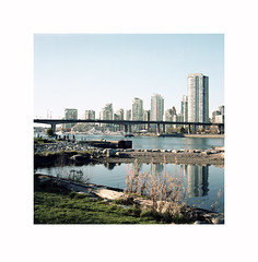 (michaeladkins.co.uk) Tags: kodak kodakportra portra160 160iso 160asa mediumformat squareformat square squares city cities canada northamerica britishcolumbia bc meanwhileincanada urban snaps streetphotography cityscapes street falsecreek bridges cambiebridge bush water sea reflection reflections beauty glass naturallight 120 filmphotography film analogue analog canadiansurfaces fuji fujigf670 fujifilmgf670 fujifilmgf670professional gf670 vancouver vancity bessaiii voightlanderbessaiii voightlander