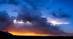 Sunset (alanmartínez) Tags: ngc sunset atardecer paisaje landscape clouds nubes hills montañas sky cielo panoramic panoramica canon canon60d canoneos canon1855 sun lights colours