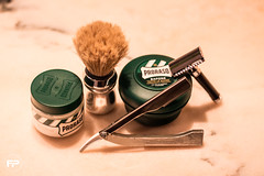 S.O.T.D (federicopavan1) Tags: sotd shave aftershave preshave razor de doubleedge shavette proraso edwinjagger focus astra barber vintage reflex fp canoneos700d