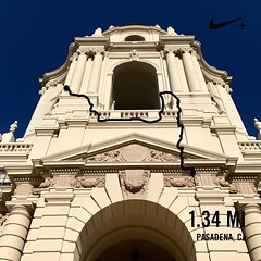 Because straight is boring #activetransportation on the way to @KPMedSchool, Pasadena CA
