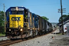 CSX M775-20 Tullahoma,TN (Andrew Williams Photography) Tags: csx tennessee tullahoma train emd gp402 tn yn2 outdoor locomotive smalltownusa m775 railfans rare