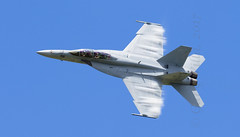F/A-18F Turning (Evo1ve) Tags: airshow dayton f18 fa18 hornet superhornet fa18f