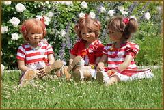 Zeit für eine Pause ... (Kindergartenkinder) Tags: dolls himstedt annette frühling park blume garten kindergartenkinder essen grugapark personen sanrike blumen rosen annemoni milina
