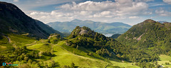 Castle Crag on a Summers Afternoon (Dave Massey Photography) Tags: lakedistrict castlecrag kingshow skiddaw panorama landscape borrowdale cumbria