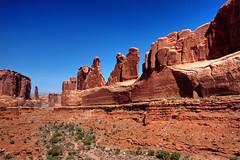 Park Avenue Viewpoint, Arches National Park, Utah (klauslang99) Tags: klauslang nature naturalworld northamerica arches national park utah rocks landscapes