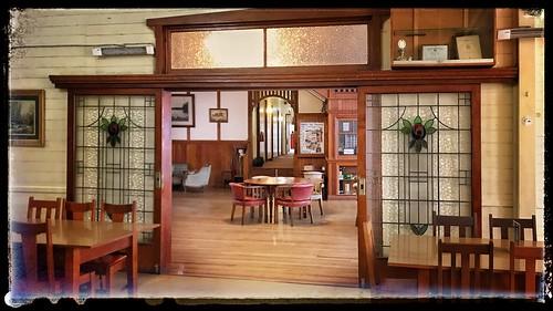 Yungaburra Hotel dining room
