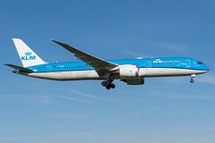 KLM / B789 / PH-BHI / EHAM 36R (_Wouter Cooremans) Tags: ehama ams eham amsterdam amsterdamschipholairport schiphol spotting spotter avgeek aviation airplanespotting klm b789 phbhi 36r