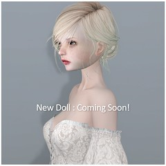 New Doll _ Coming Soon! (cocoro Lemon) Tags: coco doll bjd new secondlife avatar