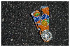 Fanta Dose (K.Rahn) Tags: fanta dose asphalt blech blechdose gequetschte kontrast metall müll pfand pfanddose platt recycling rote strasse strase umweltverschmutzung wegwerfartikel weissblech weisblech zerdrückt zerdrückte zerquetcht abfüllung alkohol alkoholfrei aluminium bier cola container durst energie erfrischung fabrik getränke getränkedose hintergrund industrie limonade maschine palette reihe rot soda trinken umwelt viele wasser wiederverwertung