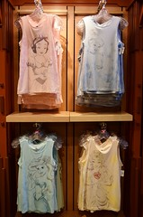 Disneyland Visit 2017-6-25 - Downtown Disney - World of Disney - Women's Princess Tops (drj1828) Tags: disneyland visit 2017 downtowndisney worldofdisney merchandise