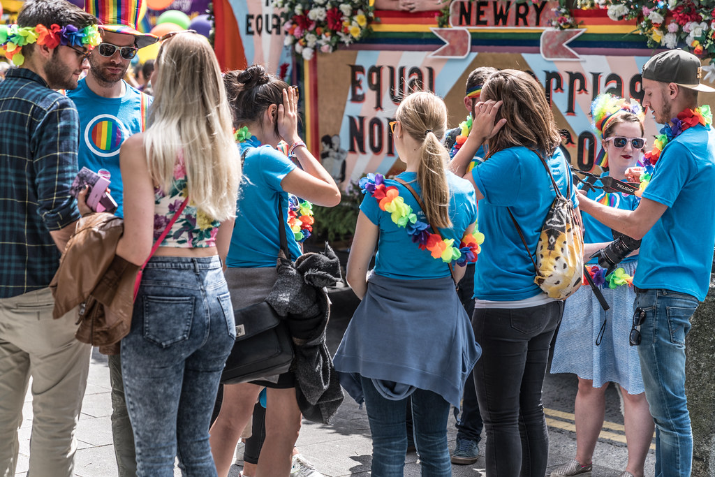 LGBTQ+ PRIDE PARADE 2017 [STEPHENS GREEN BEFORE THE ACTUAL PARADE]-129825