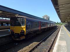 150127 Plymouth (Marky7890) Tags: gwr 150127 class150 sprinter 2g74 plymouth railway devon devonmainline train