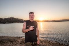 Lake Nacimiento Sunset (jimsheaffer) Tags: lakenacimiento sunset heritageranch heritageranchpasorobles flashphotography nikond750 nikkor1835mmf3545gedlens wideanglelens nikonwideangle centralcalifornia winecountry fullframe